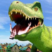 Wild Dinosaur Attack In City