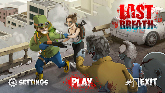 Last Breath: Zombie Apocalypse MOD APK [Unlimited Money] 1.38 1