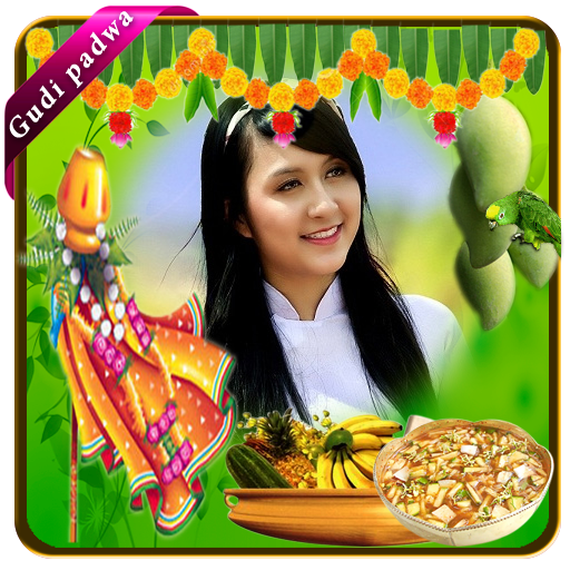 攝影App|Gudi padwa photo frames LOGO-3C達人阿輝的APP