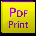 PDF PRINT icon