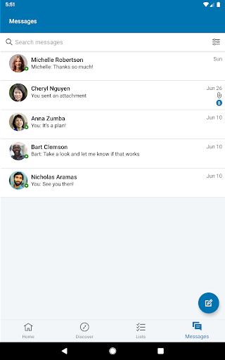 LinkedIn Sales Navigator 6.8.7 screenshots 11