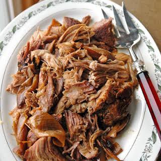 Slow Cooker Carolina Pulled Pork.