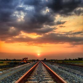 Sunset by Rury Emotion - Landscapes Sunsets & Sunrises