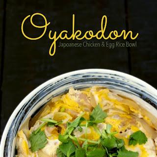Oyakodon (Japanese Chicken & Egg Rice Bowl) Recipe & Video