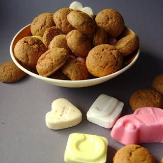 Traditional Kruidnoten Cookies Recipe -- Dutch Ginger Nuts.