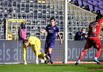 Pas de changement dans les buts à Anderlecht pour le Clasico