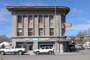 Photo: Historic Milford Utah Hotel