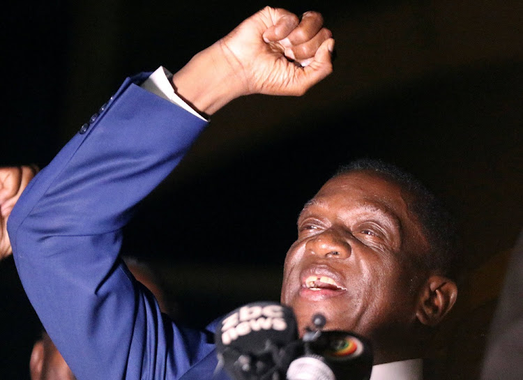 Mnangagwa was sworn in as president last Friday after 93-year-old Mugabe quit under pressure from the military.
