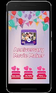 Anniversary Video Movie Maker screenshot 4