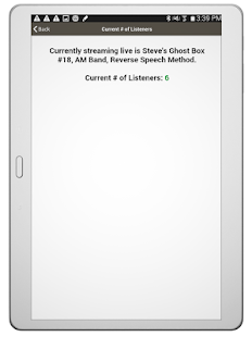 Live Ghost Box by Steve Hultay- screenshot thumbnail