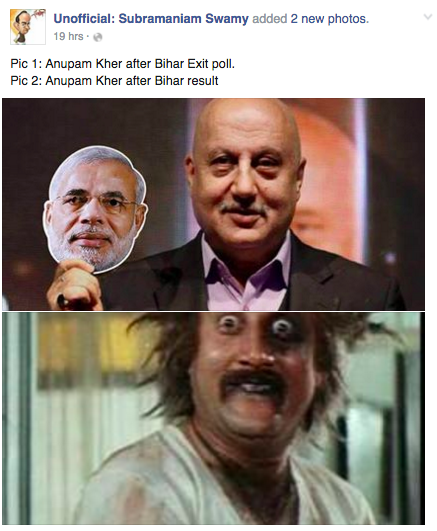 Social Media Takes The Cow Out Of The BJP After #BiharResults