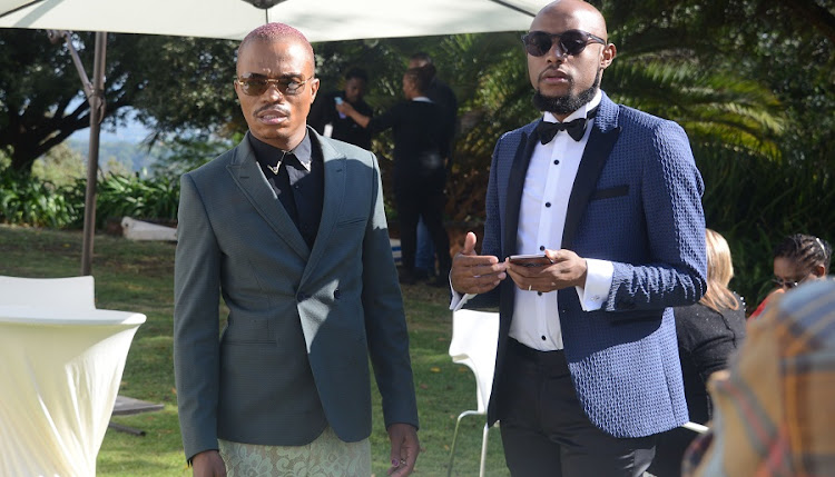 Somizi and Mohale would have celebrated their third wedding on Thursday, but are mourning the death of Somizi's mother.