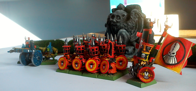 Photo: CHaos dwarfs army general