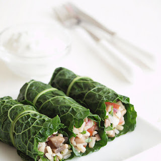 Stuffed Kale Rolls.