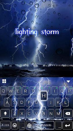 Lighting Storm Kika Keyboard 45.0 screenshot 1272117