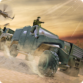 Offroad US Army Transport Game - Army Transporter