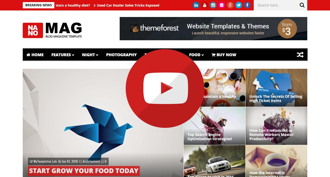 NanoMag - Responsive Blog & Magazine Blogger Template - 11