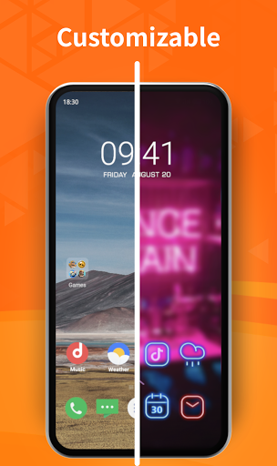 Sky Launcher - Faster & Simpler launcher for you. 1.1.1.2 (1560) screenshots 1