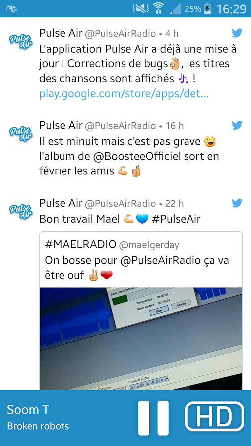 Pulse Air- screenshot