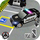 Cop Car Parking Hero: Cops Driving Parking Game