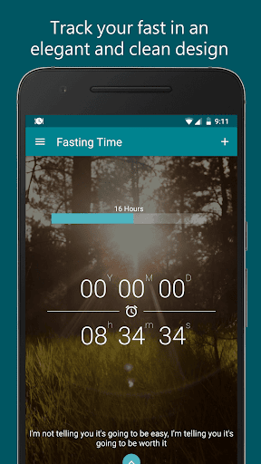 Fasting Time - Fasting Tracker & Intermittent Diet 1.10 screenshots 1