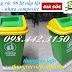 Sản xuất thùng rác 90 lít nắp lật nhựa composite giá rẻ siêu cạnh tranh call 0984423150 – Huyền