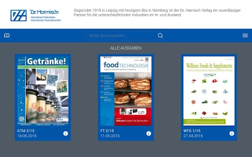 Dr. Harnisch Publications- screenshot thumbnail