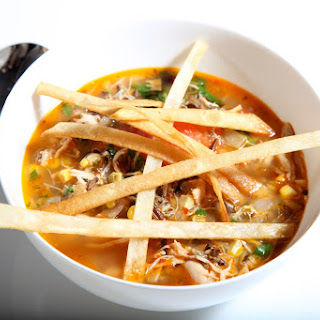 Chicken Tortilla Soup With Rice Recipes