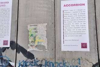 Photo: Storytelling on the wall, an initiative of the Arab Educational Institute.