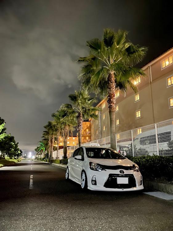 アクア NHP10の夜活に関するカスタム&メンテナンスの投稿画像1枚目