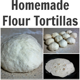 Authentic Homemade Flour Tortillas