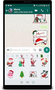 Christmas Sticker for Whatsapp Sticker Pack Screenshot