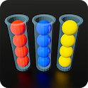 Color Sort 3D: Fun Sorting Puzzle - Ball Stack icon