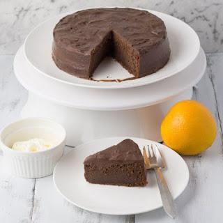 Chocolate Orange Fudge Cake.