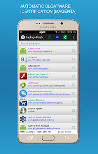 Package Disabler Pro + (Samsung) Screenshot