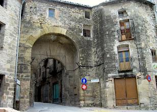 Photo: Sta.Coloma Queralt Portal entrada al enmurallat
