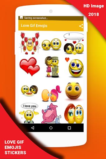 Love Gif Emoji Stickers 1.0.3 screenshots 5