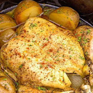 Slow Cooker Country Chicken.