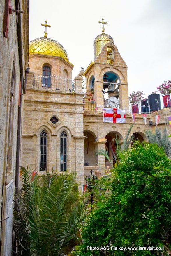 Православный монастырь Св.Герасима Иорданского. Иудейская пустыня. Израиль.