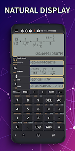 Math Camera FX Calculator 991 ES Emulator 991 EX v3.9.1 [Premium] APK 1