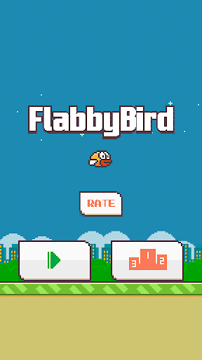 Flabby Bird - The Flappy Game 1.3 screenshots 1