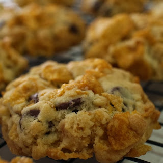Chocolate Cornflake Cookies.