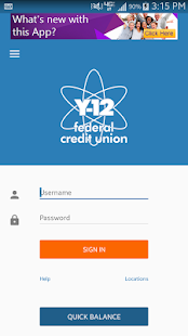 Y-12 FCU Mobile Banking- screenshot thumbnail