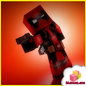 Mod Hero Deadpool MCPE