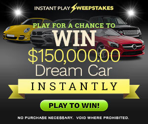 Win A $150,000 DREAM CAR
