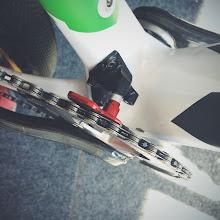 Photo: Custom chain keep seen on Nino Schurter's bike