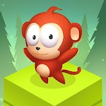 Jungle Monkey Jump Icon