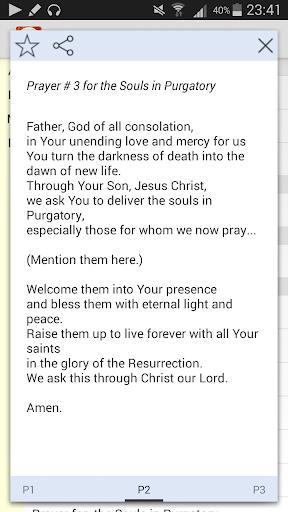Purgatory Prayers