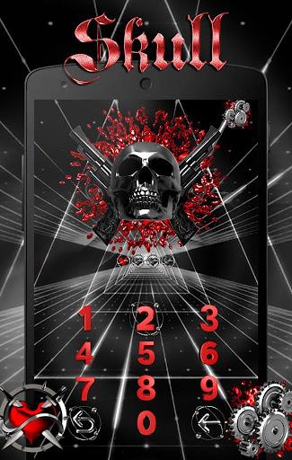 skull Theme- AppLock Pro Theme