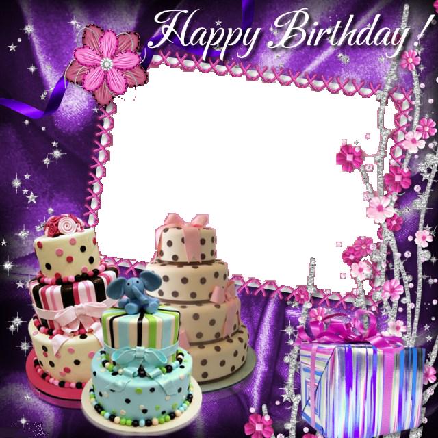 Birthdays Photo Frame & Cards.